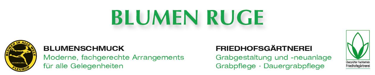Blumen Ruge GmbH Logo